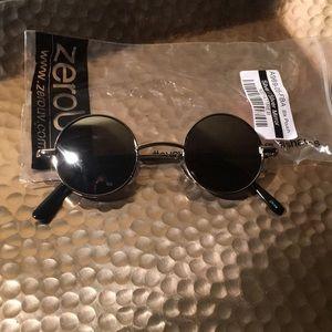 ZeroUV Small Mirrored Lens Round Eye Sunglasses